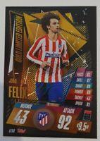 2020/21 Match Attax UEFA - Joao Felix Gold Limited Edition LE5G Atletico Madrid