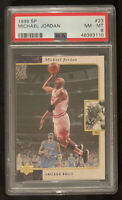 1995 SP Basketball Michael Jordan #23 PSA 8 NM-MT Chicago Bulls
