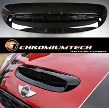 MK3 MINI Cooper/S/SD/JCW F55 F56 F57 Black Bonnet Scoop / Air Inlet Trim