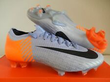 NIKE MERCURIAL VAPOR 12 ELITE 360 FG ID PURPLE-ORANGE-BLACK SZ 7.5 [AJ6735-994]