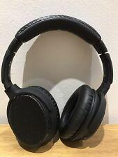 Goji GTCBTNC16 Noise Cancelling Wireless Bluetooth Hands Free Headphones - Black