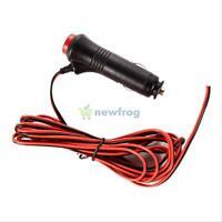 3m 12V 24V Car Motorcycle Cigarette Lighter Socket Plug Connector On Off Switch