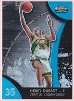KEVIN DURANT RC 2007-08 TOPPS FINEST REFRACTOR #054/199 ROOKIE SONICS