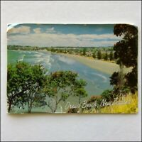 Orewa Beach New Zealand 1991 Postcard (P397)