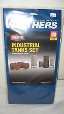 Walthers Cornerstone HO Industrial Tanks Set Kit #933-3197 New in Box