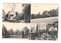 Alte Ansichtskarte Postkarte Burgk bei Dresden 1925 Mehrbild gelaufen
