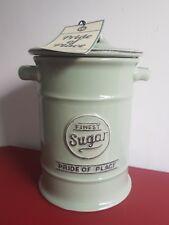T&G Pride of Place Old Green Sugar Storage Jar #10502