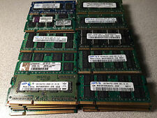 Lot of 50 1GB DDR2 Laptop Notebook Memory Ram Mixed