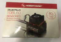 Hobbywing QUICRUN WP 10BL60 SD SENSORED Brushless 60A ESC 1/10 UK STOCK RC 2-3S