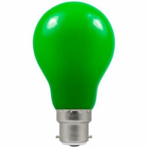 CROMPTON LED GLS Coloured • 1.5W • GREEN • BC B22d 50lm 4122