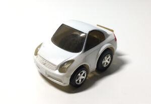Takara Choro Q Choroq Nissan Skyline Coupe No.63 Penny Racer Pullback Car White