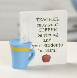 Blossom Bucket Deb Strain Teacher Gift May Your Coffee Be Strong Students Calm