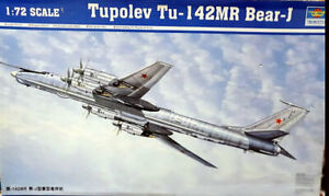 Tupolev Tu-142MR Bear-J scale 1:72 Trumpeter