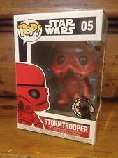 FUNKO POP! Star Wars RED STORMTROOPER #05 Exclusive Vinyl Figure *NEW OTHER*