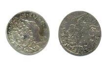 Rare 1717 Bavaria( German state) Silver 15 Kreuzer-quarter size