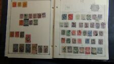 Thailand Siam classic stamp collection on Scott pages to '83