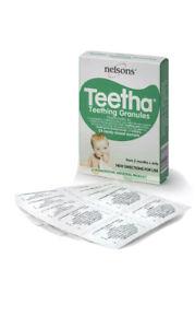 Nelson Teetha Teething Granules 24 Sachets Homeopathic  Teeth Gums Pain Relief