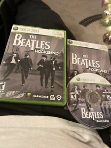Beatles: Rock Band (Microsoft Xbox 360, 2009) Complete Game
