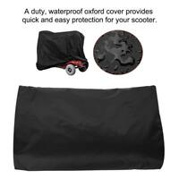 Pro Wheelchair Mobility Scooter Storage Cover UV Rain Protector Waterproof Black