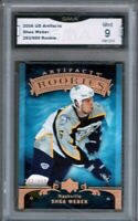 GMA 9 *Mint* SHEA WEBER 2006/07 UD Upper Deck Artifacts ROOKIE Card HABS