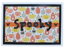 HANDMADE HALLOWEEN CARD AUTUMN SPOOKY PUMPKINS & CATS NEW MORE CRAFT IN OUR SHOP