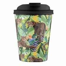 Avanti - GOCUP Double Wall Stainless Steel Coffee Cup 280ml Tropical Leopard