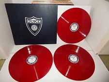 "GLEE CLUB DUKE UNIVERSITY CHAPEL CHOIR RED VINYL 78 RPM 12"" 1950'S RECORD LP SET"