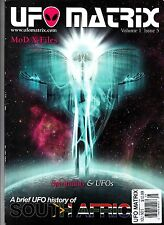 UFO Matrix Volume 1 Issue 5 2011 Mod X-Files Spirituality South Africa UFOs