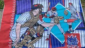 VTG  90s MLB BASEBALL ROOKIE LEAGUE pillowcase fabric
