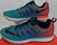 89220bfd8612 New Mens 13 NIKE Air Zoom Elite 8 101 Blue Green Shoes  125 806537-001