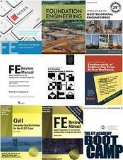 Civil Engineering FE Exam Reference Materials (Fundamentals of Engineering)