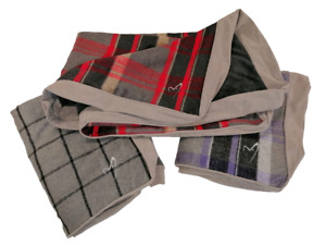 Gor Pets Camden Luxury Sleeper Cover Checked Fleece Faux Suede Dog Cushion
