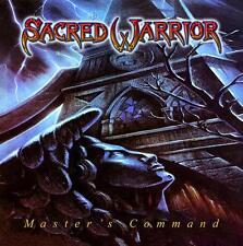 SACRED WARRIOR - MASTER'S COMMAND (*Black Vinyl, 2017, Roxx) Christian Metal