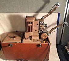 Vintage 1950's AMPRO 16mm film SOUND movie PROJECTOR Premier 40