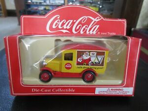 1:55 Coca Cola Ford Model A Delivery Truck Santa Talk About Being Good Lledo
