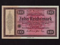 Germany:P-200,10 Reichsmark,1933 * CONVERSION FUND FOR G. FOREIGN DEBTS * UNC *