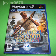 MEDAL OF HONOR RISING SUN PAL ESPAÑA NUEVO Y PRECINTADO PLAYSTATION 2 PS2