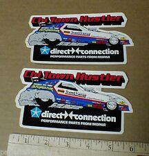 4 1983 Chi Town Hustler Team Mopar Funny Car vintage drag racing decal stickers