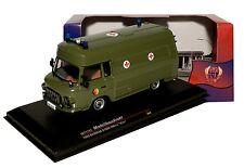 Barkas B1000 SMH-3 Krankenwagen NVA der DDR Bj 1985 1:43 IXO / IST 170T NEU & OV