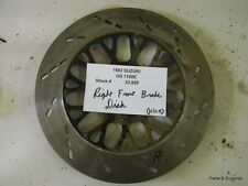1982 Suzuki GS 1100 E Right Front Brake Disc
