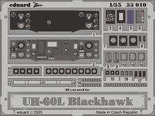 Eduard Zoom 33010 1/32 Academy Sikorsky UH-60L Black Hawk instrument panel
