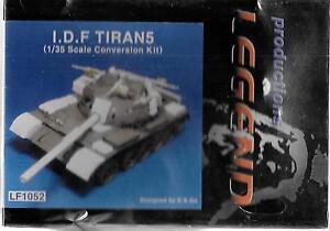 Legend Productions Idf Tiran5 Conversion Kit En 1/35 Lf 1052 Do