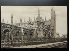 Cambridge: King's College Screen & Gate c1917 by F.Frith & Co. No.26497