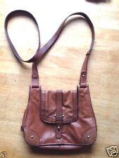 UGG Crossbody leather handbag Brown
