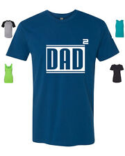 Dad Squared Dad To The Power Of Two Tshirt Next Level T-Shirt Your Size & Color