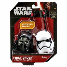 OFFICIAL Disney Star Wars First Order Kylo Ren Stormtrooper Walkie Talkies Radio