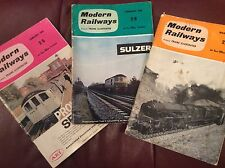 Modern Railways Jan-Mar 1962 inc Resignalling The London Tilbury & Southend Line