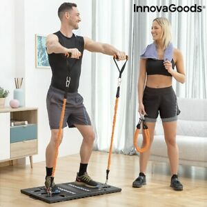 Integrated Portable Training System with Exercise Guide- Fitness Equipment
