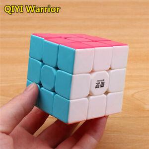 NEW 2021 QIYI warrior Stickerless 3x3x3 Speed Magic Cube Professional Puzzle Toy