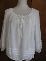 Denim & Supply women's cotton white top New